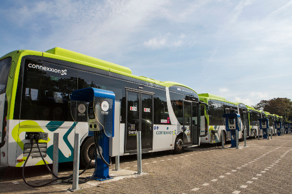 Bussen van Connexxion